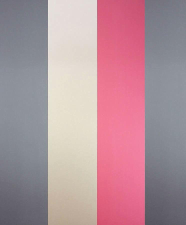 Tienda online telas papel papel pintado rayas carnaby for Papel pintado dorado