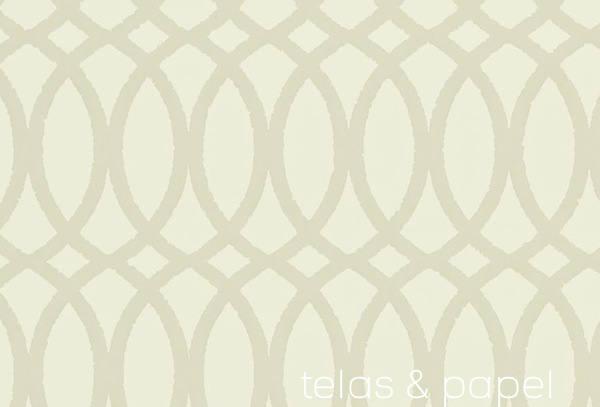 papel pintado trellis erin color lino