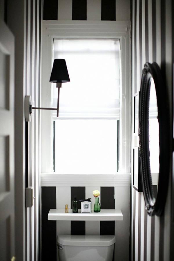 Tienda online telas papel papel pintado rayas blancas - Papel pared rayas verticales ...