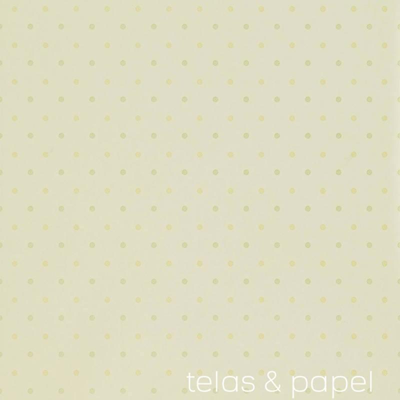 p 10973 papel pintado lunares dot amarillosjpg