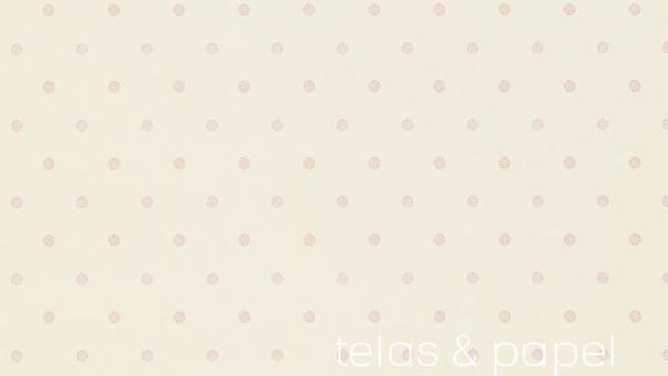 pastel blue polka dot wallpaper