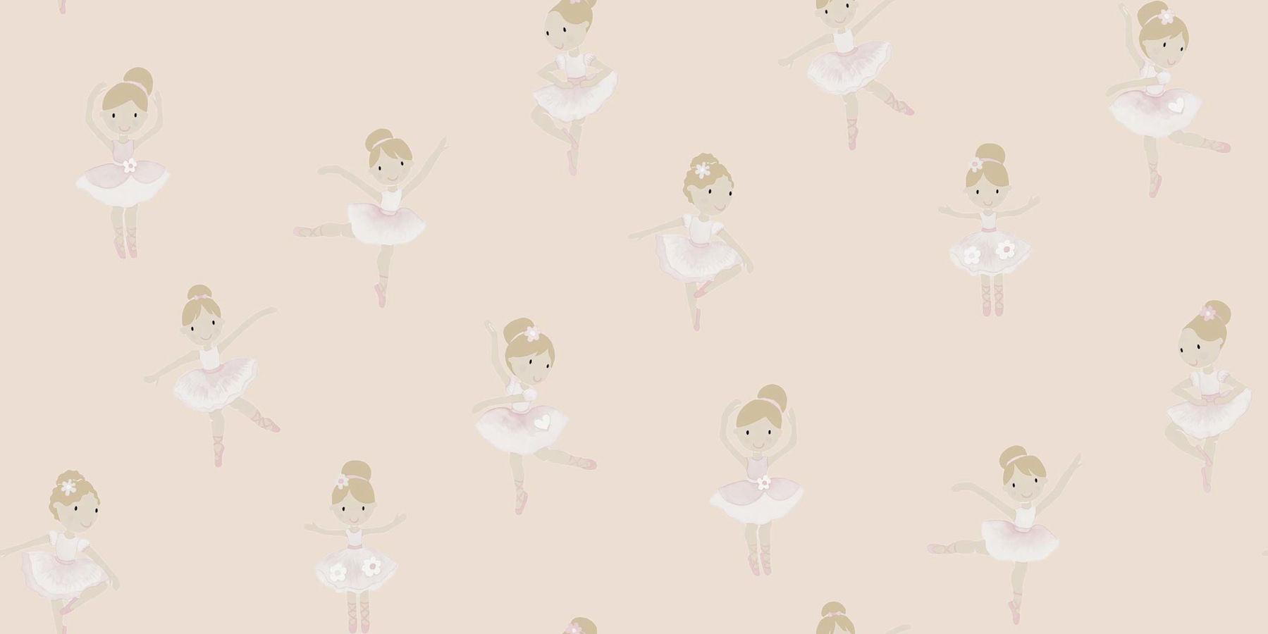 Tienda online telas papel papel pintado bailarinas rosa - Papel pintado rosa ...