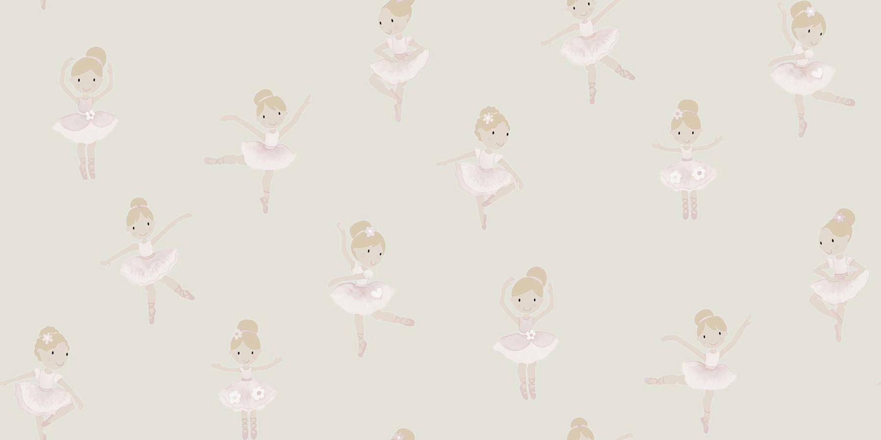 Tienda online telas papel papel pintado bailarinas - Papel pintado online ...