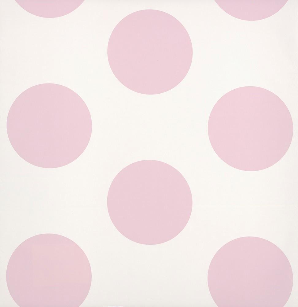 p 11127 papel pintado lunares rosa rs - Papel Pintado Lunares
