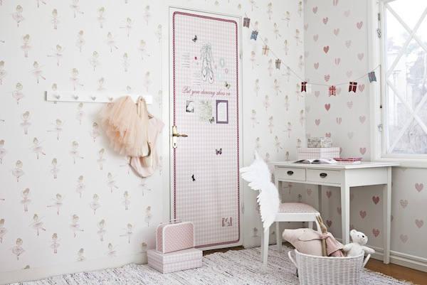 Tienda online telas papel papel pintado infantil con for Papel para pared dormitorio