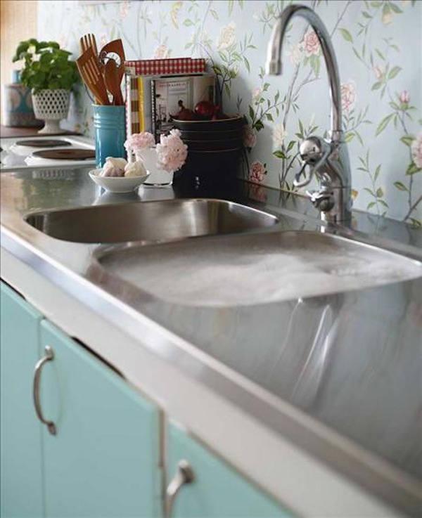 Tienda online telas papel papel pintado en la cocina - Papel pintado para cocina ...