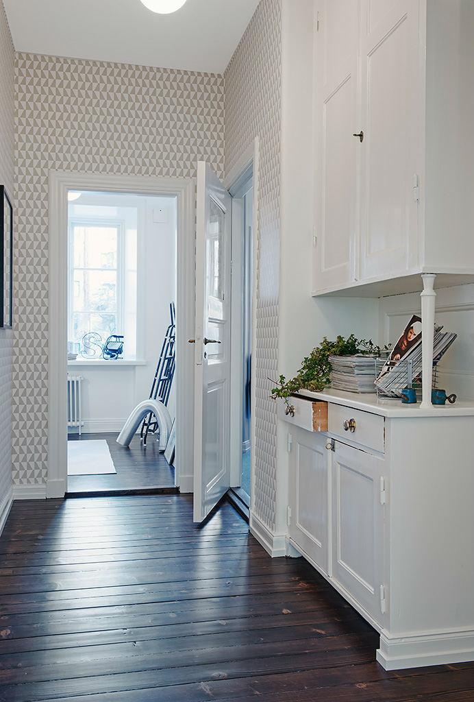 Tienda online telas papel papel pintado geom trico for Papel pintado entrada