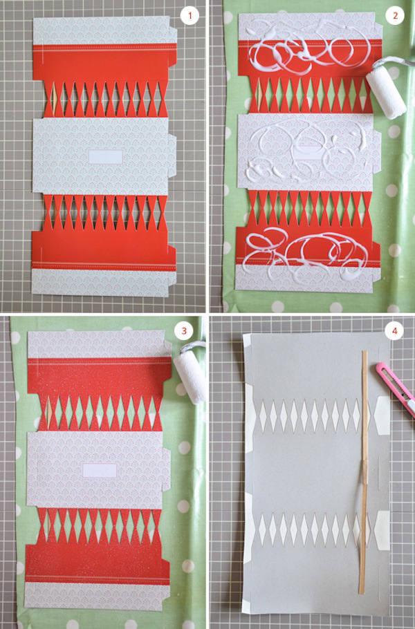 Tienda online telas papel ideas con papel pintado - Manualidades con papel pintado ...