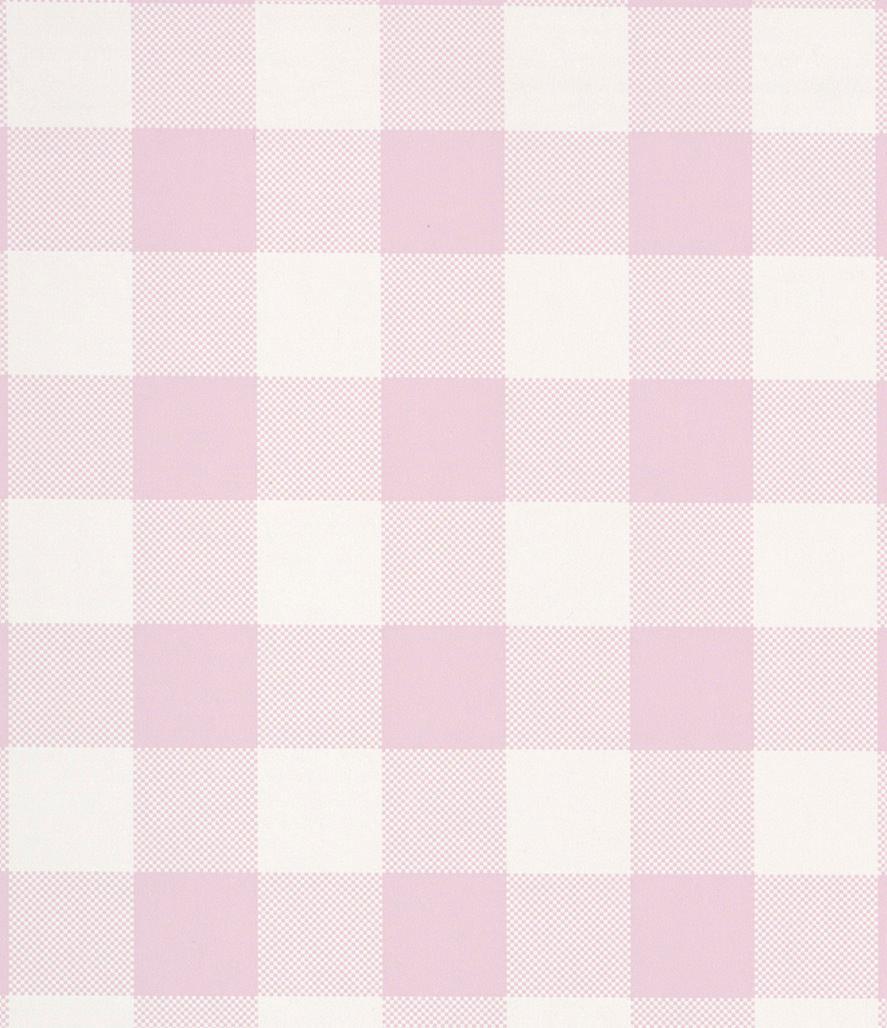 Tienda online telas papel papel pintado cuadros check rosa tiza - Papel pintado rosa ...