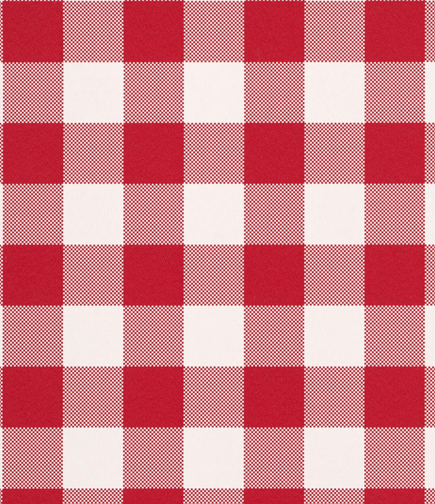 Tienda online telas papel papel pintado cuadros check rojo - Papel pintado rojo y blanco ...