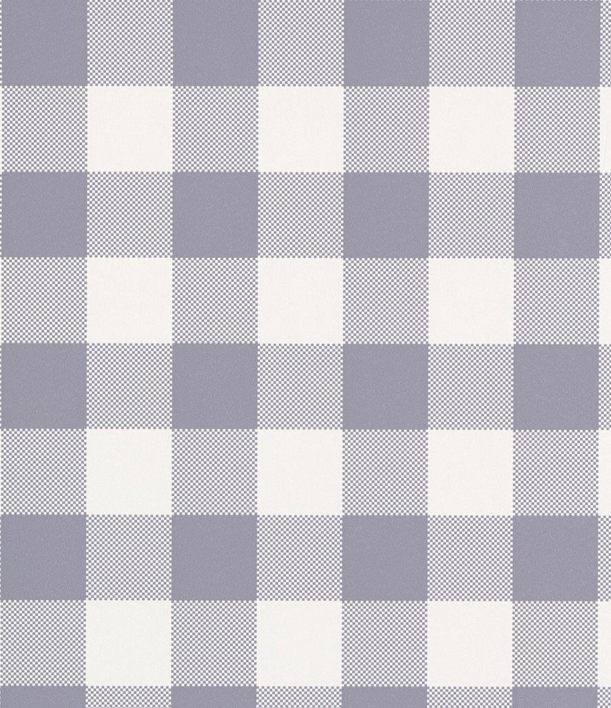tienda online telas papel papel pintado cuadros check morado grisaceo
