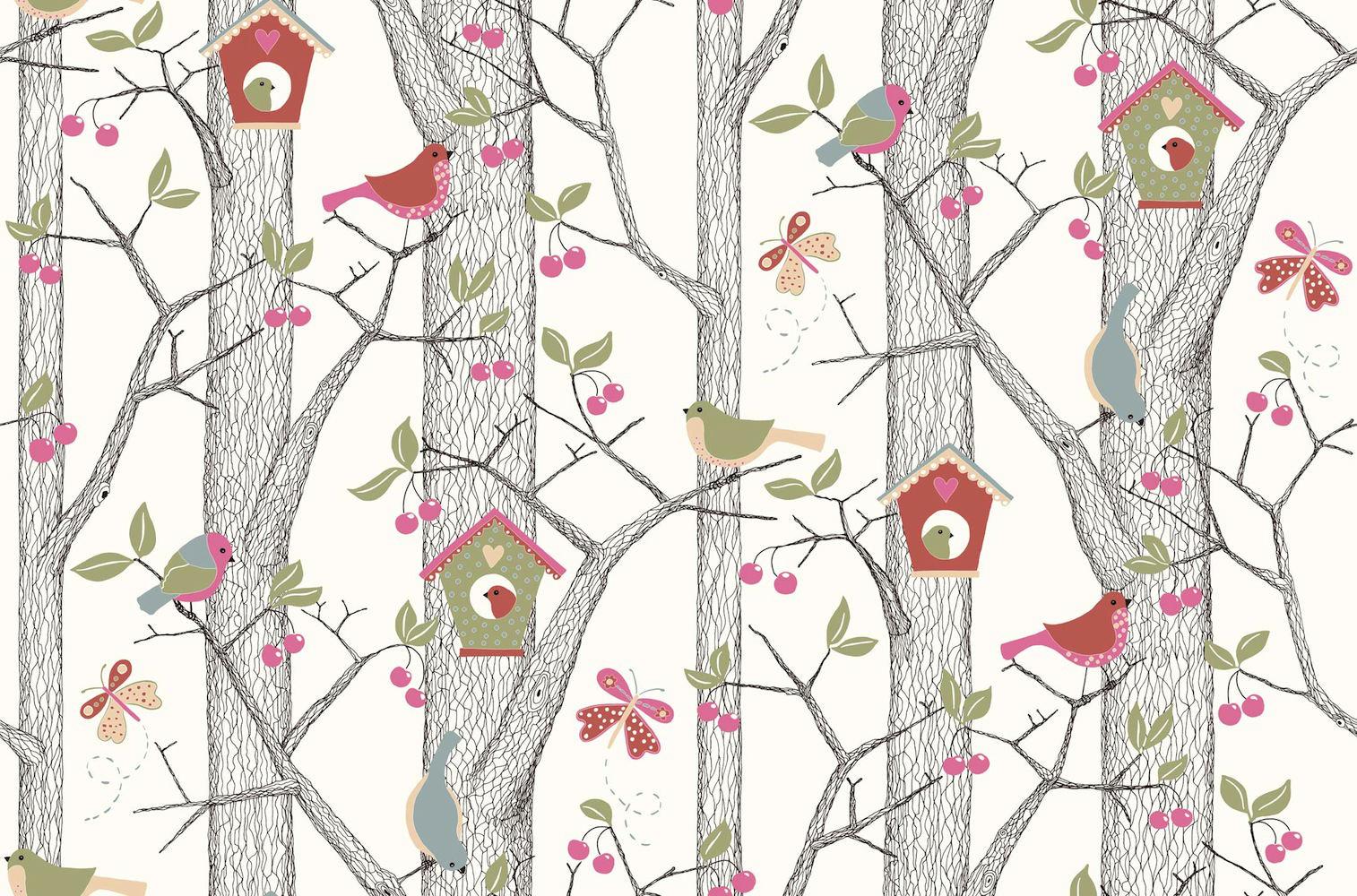 Tienda online telas papel papel pintado infantil - Papel pintado online ...