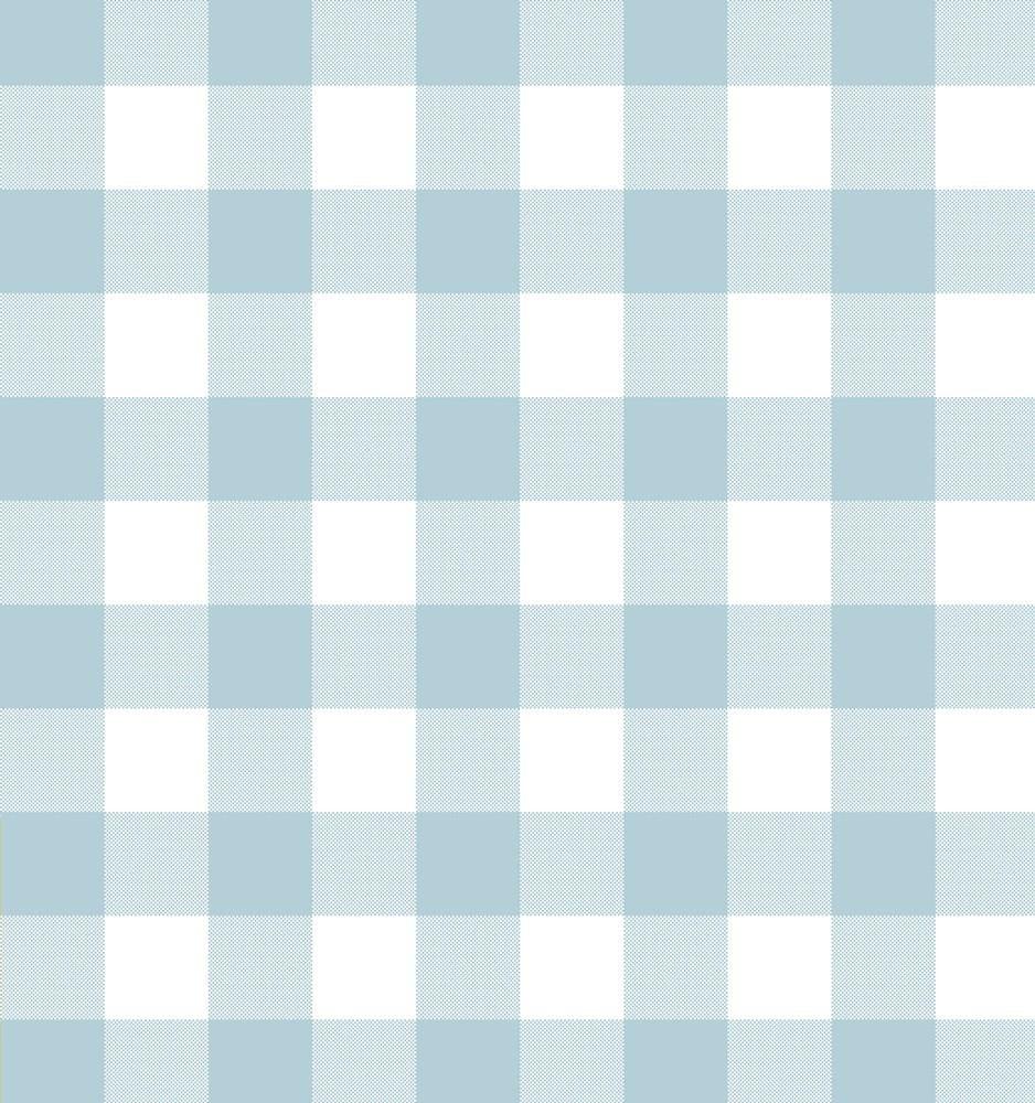Tienda online telas papel papel pintado cuadros check for Papel decorativo azul