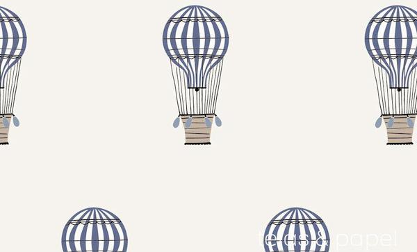 tienda online telas  papel  papel pintado con globos
