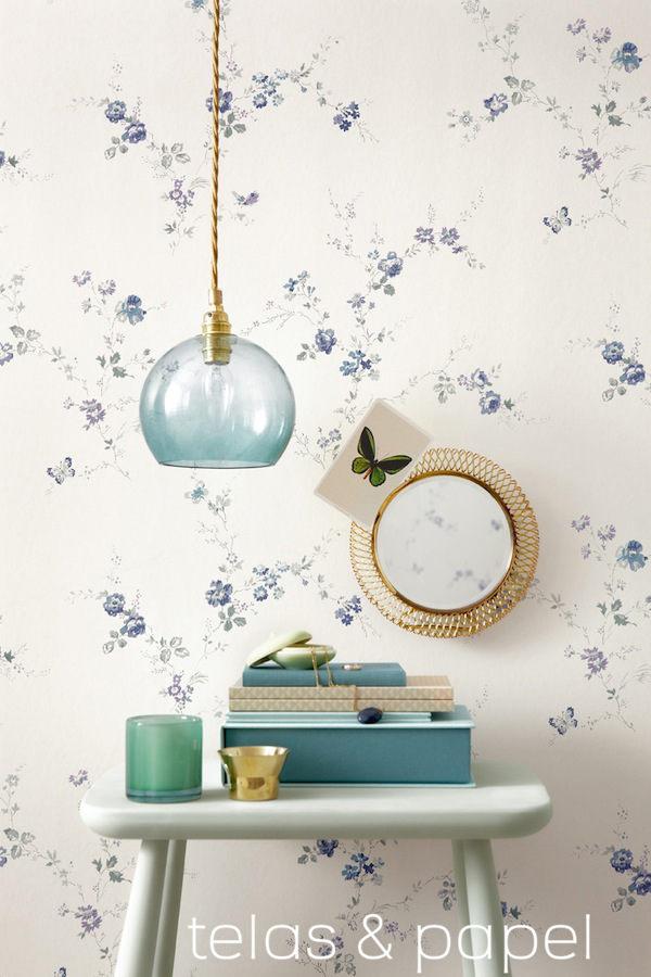 Tienda online telas papel decorar las paredes con - Catalogo de papel pintado para paredes ...