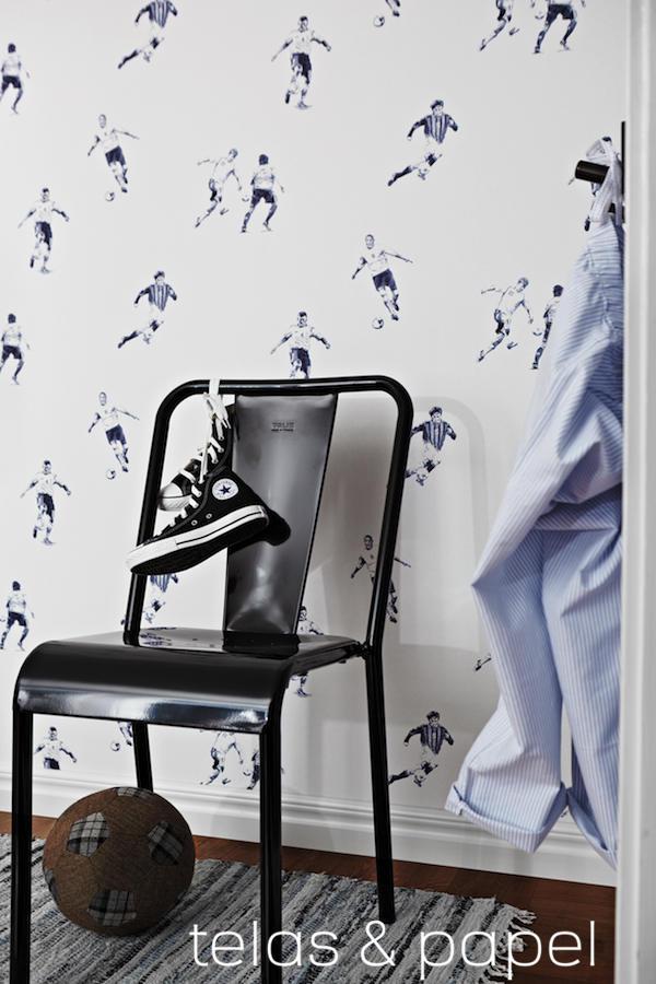 Tienda online telas papel papel pintado para fans del - Papel pintado para dormitorio juvenil ...