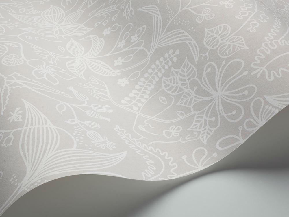 Tienda online telas papel papel pintado stig lindberg gris - Papel pintado gris ...