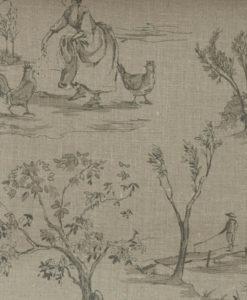 Tienda online telas papel papel pintado arbustos fresa - Papeles pintados ingleses ...