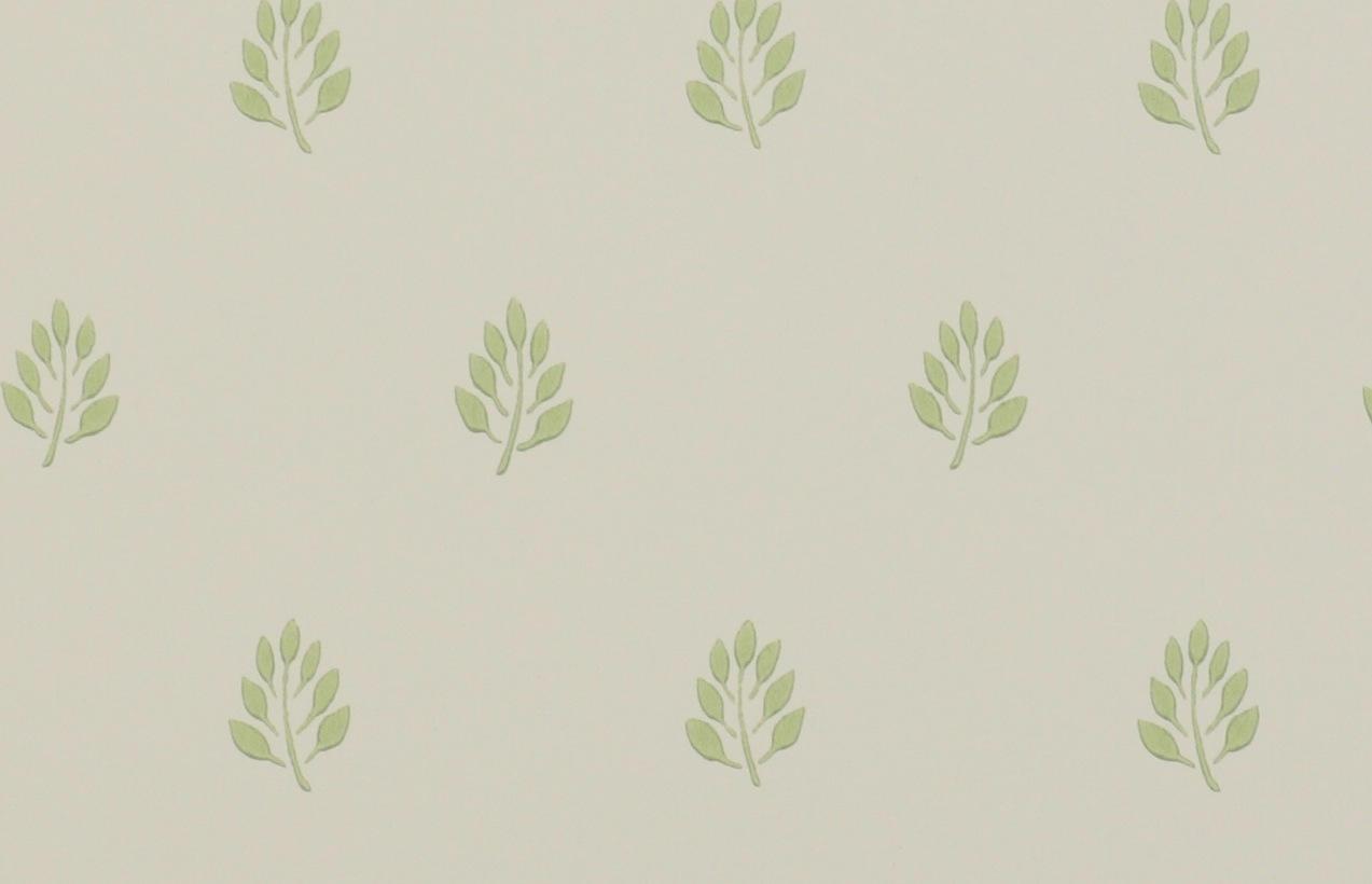 Tienda online telas papel papel pintado hojas kenley verde - Papel pintado verde ...