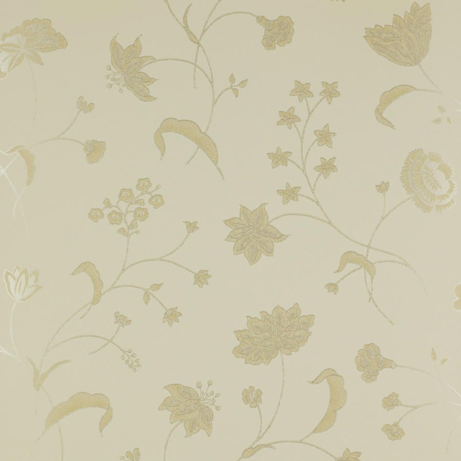 Tienda online telas papel papel pintado flores calcot - Papel pintado online ...