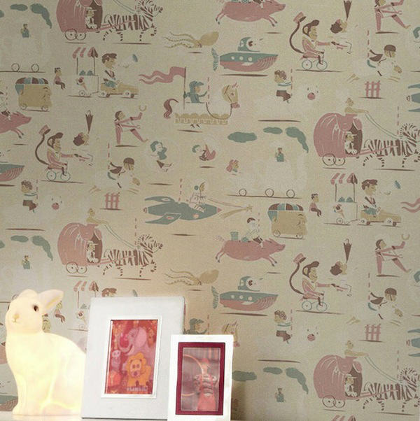 Tienda online telas papel comprar online papel pintado for Papel pintado infantil