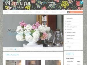 tienda online muebles y decoración vilmupa