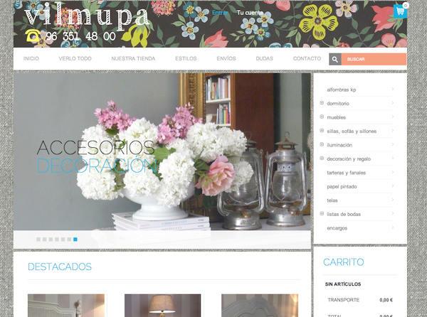 Tienda online telas papel muebles y decoraci n online for Muebles y decoracion online