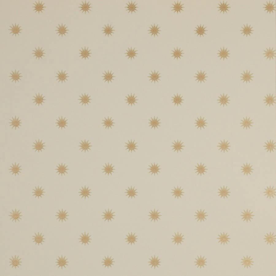 Tienda online telas papel papel pintado con estrellas for Papel decorativo dorado