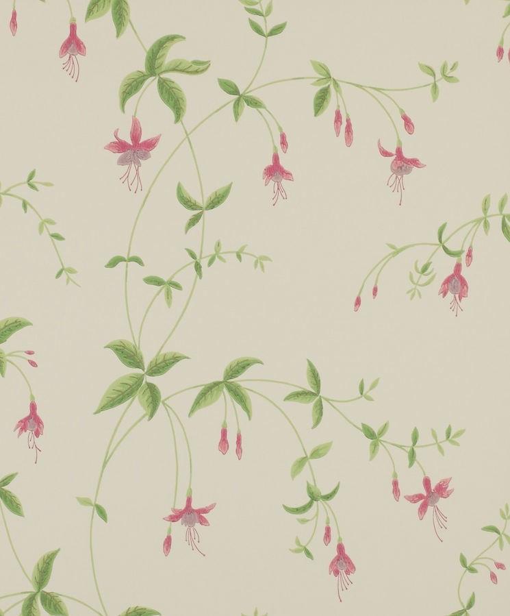 Tienda online telas papel papel pintado con for Papeles pintados ingleses