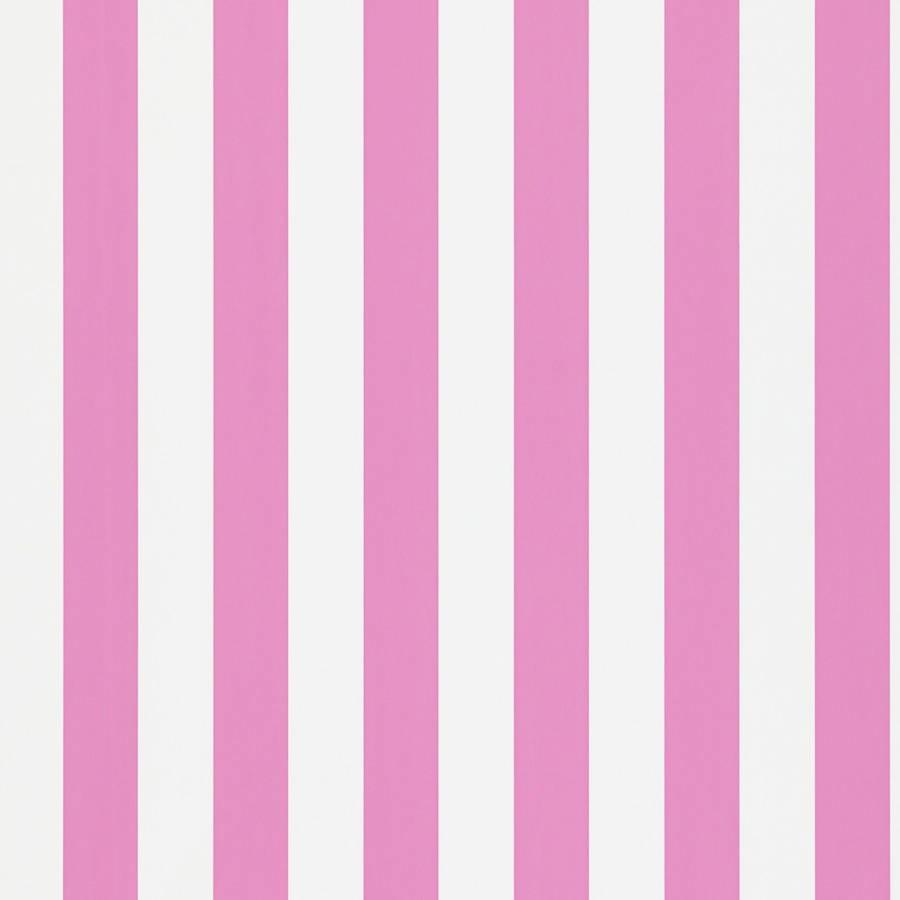 Papel pintado con rayas mimi en color rosa telas papel - Papeles pintados de rayas ...