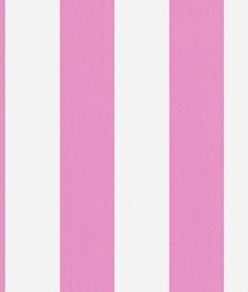 Papel pintado con rayas mimi en color rosa telas papel - Papeles pintados on line ...
