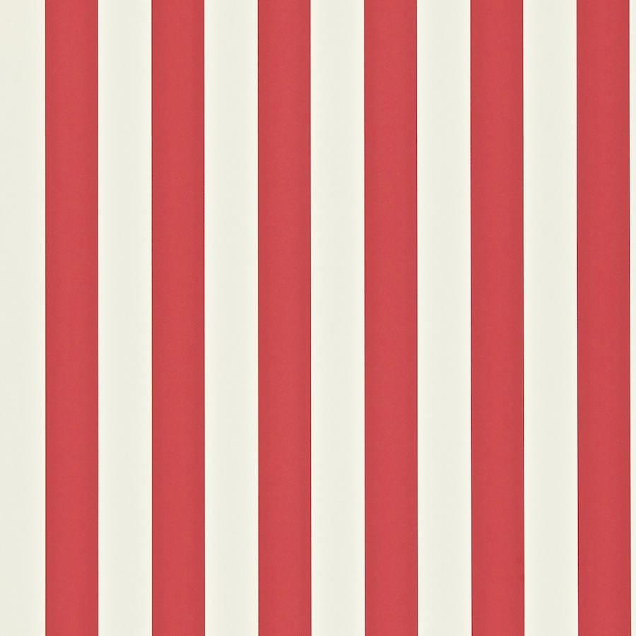 Papel pintado con rayas mimi en color rojo y blanco - Papeles pintados on line ...