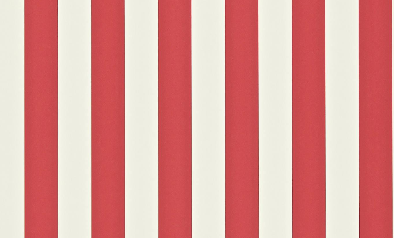 Papel pintado con rayas mimi en color rojo y blanco - Papeles pintados a rayas ...