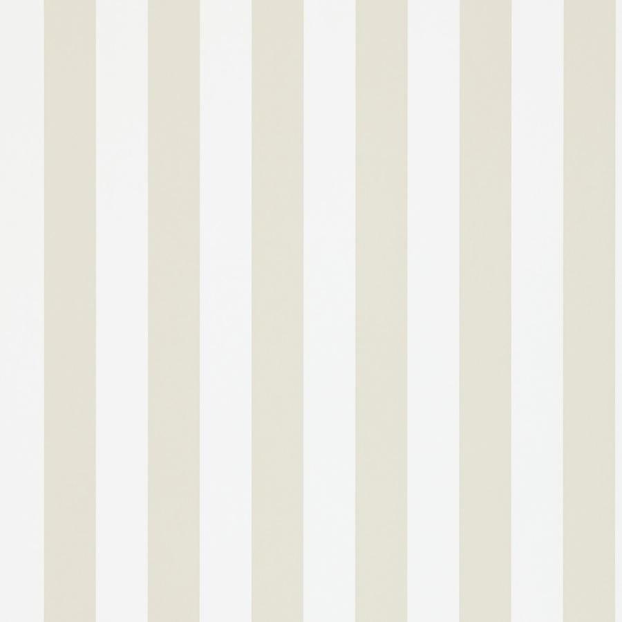 Papel pintado con rayas mimi en color beige y blanco - Papeles pintados a rayas ...