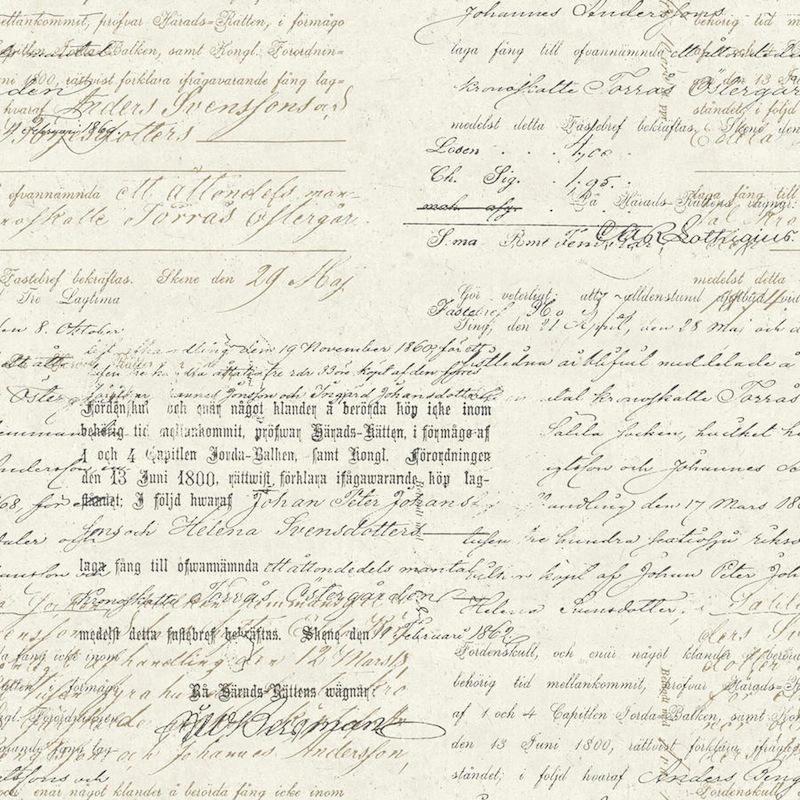 Tienda online telas papel papel pintado letras vintage - Papel pintado letras ...