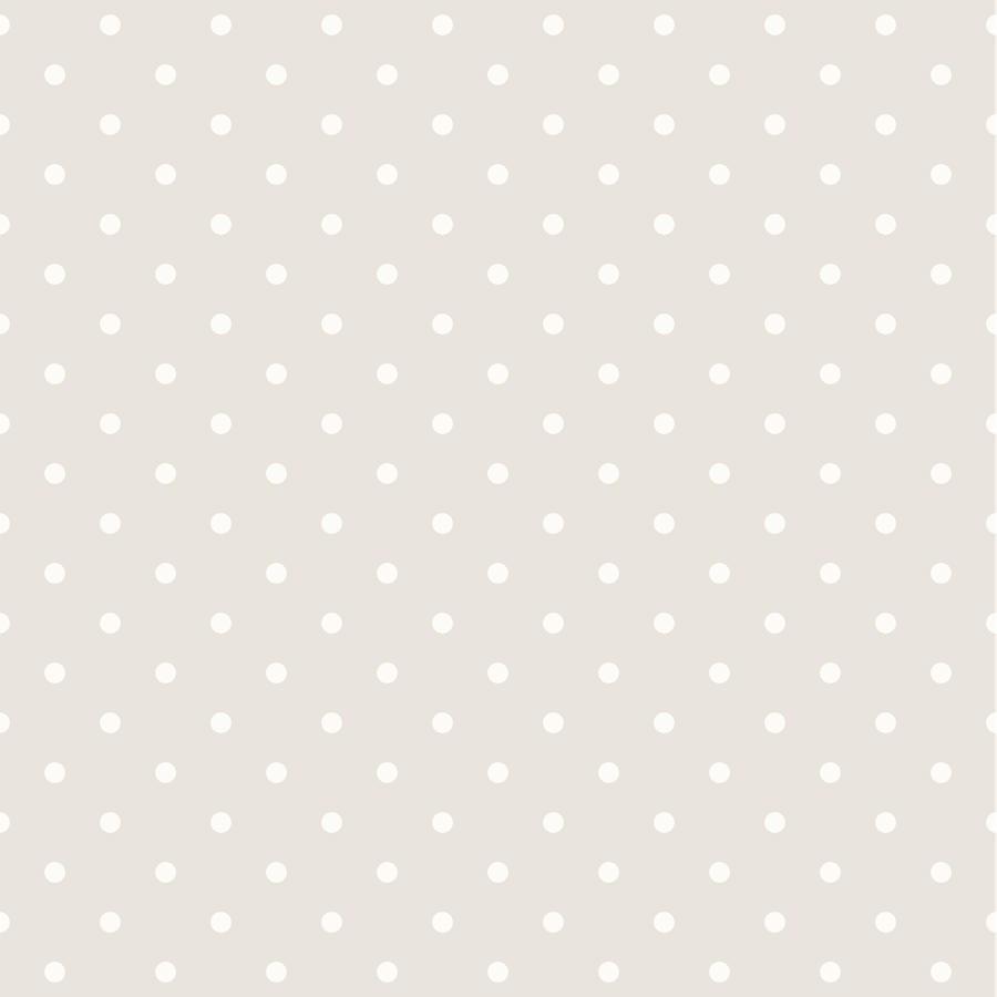 Papel pintado lunares vintage color beige telas papel for Papel pintado de lunares