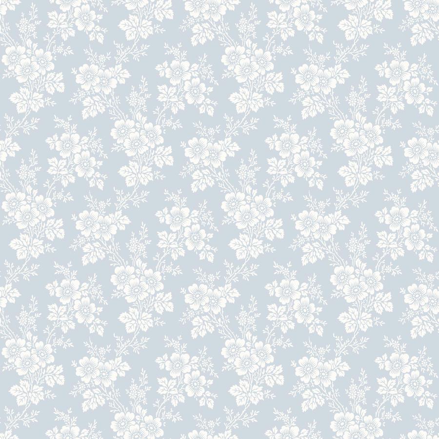 Tienda online telas papel papel pintado con flores - Papel vintage pared ...