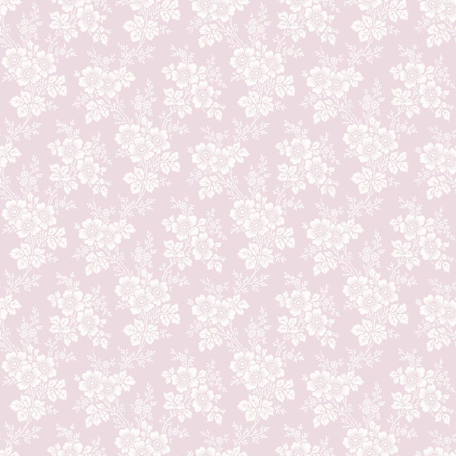 Tienda online telas papel papel pintado con flores for Papel pintado rosa y gris