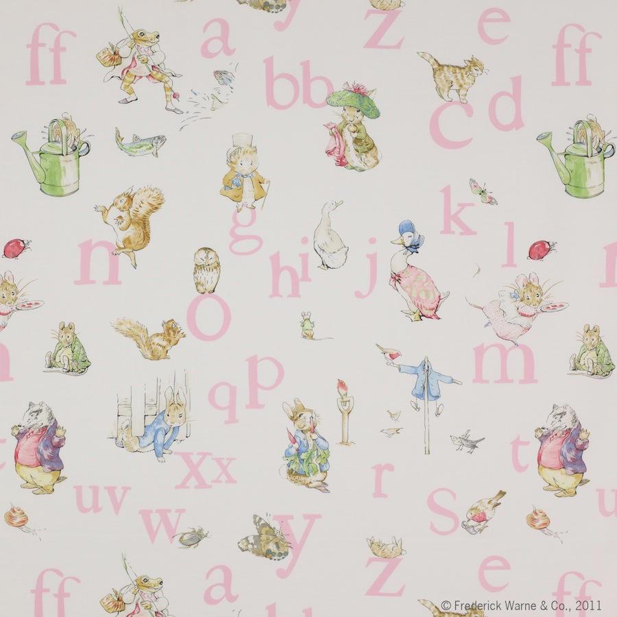Tienda online telas papel tela infantil alphabet - Telas infantiles online ...