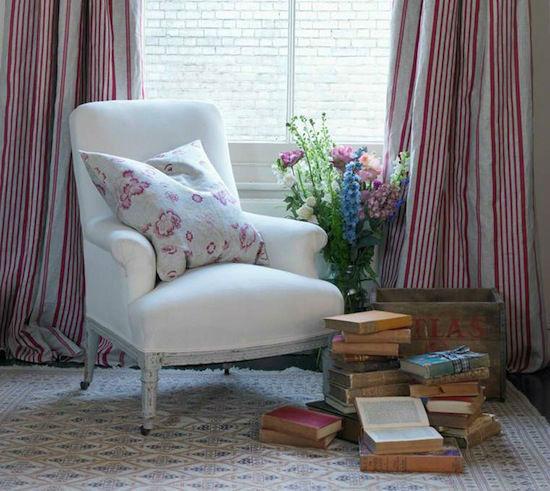 Tienda online telas papel combinar telas en el sal n for Telas de cortinas de salon