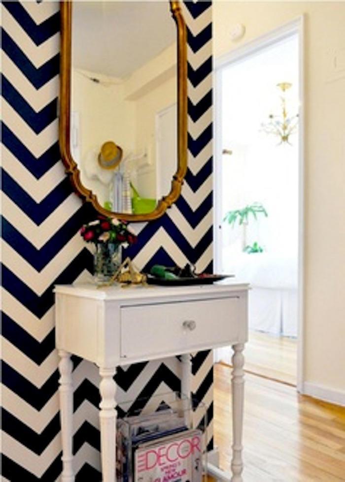 Tienda online telas papel decorar la entrada con papel - Decorar paredes con papel ...