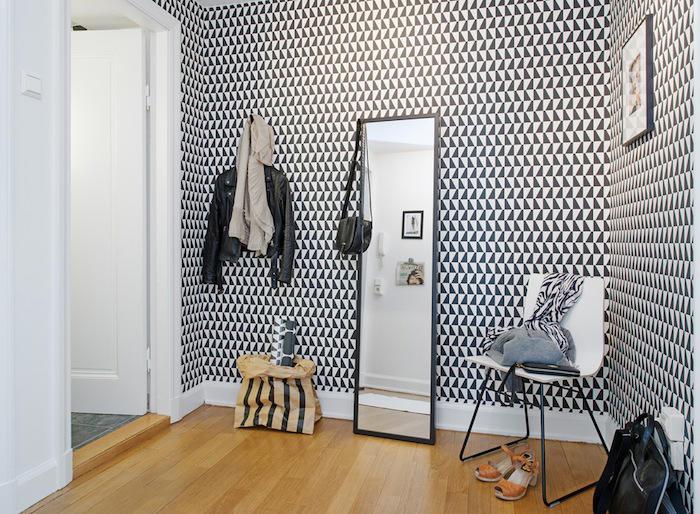 Tienda online telas papel decorar la entrada con papel - Papeles pintados para pasillos ...