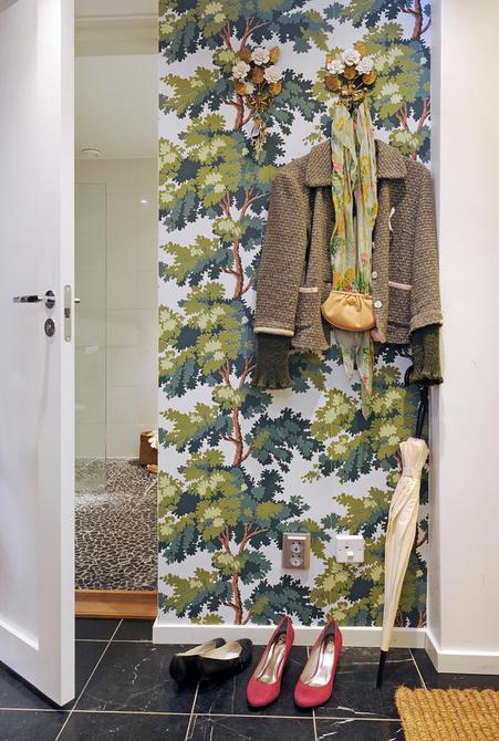 Tienda online telas papel decorar la entrada con papel - Papel pintado para puertas ...