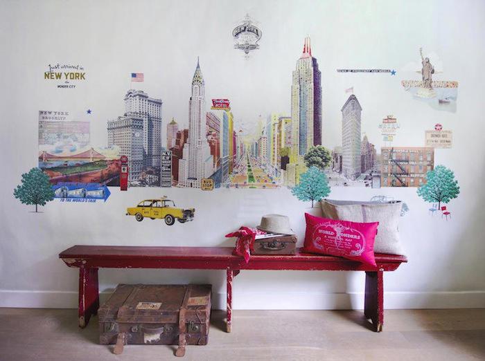 Tienda online telas papel mural new york city de room - Papel pintado nueva york ...