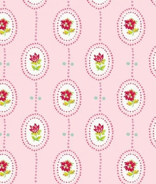 Papel pintado camee color rosa telas papel - Papeles pintados on line ...