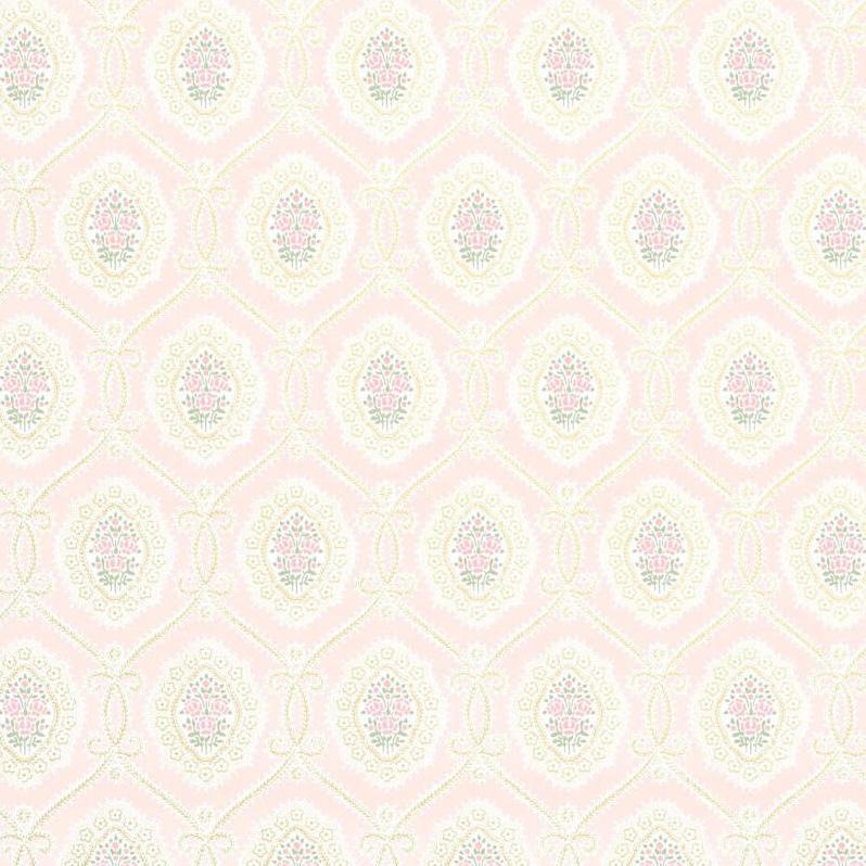 Tienda online telas papel papel pintado infantil alma rosa for Papel pintado rosa y gris