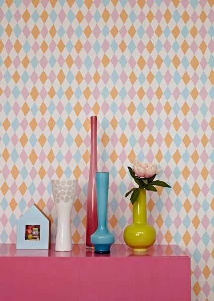 Tienda online telas papel papel pintado harlequin for Papel pintado turquesa