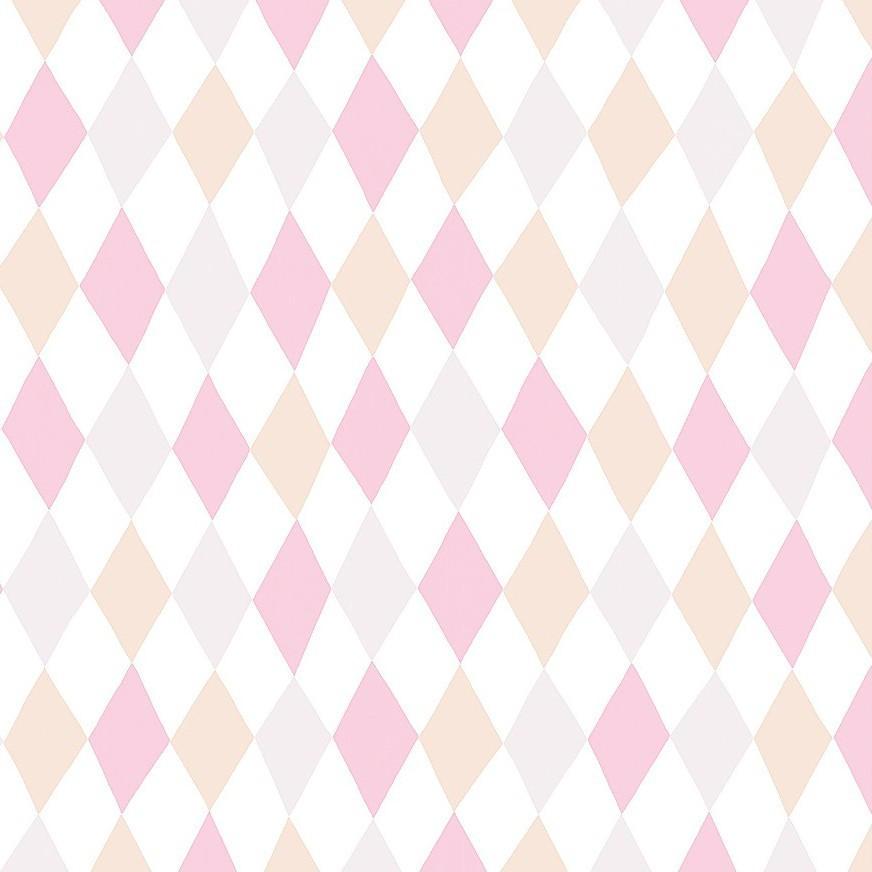 Tienda online telas papel papel pintado harlequin hampus rosa - Papel pintado rosa ...