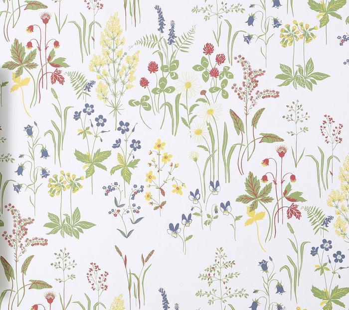 Tienda online telas papel el mundo es un trozo de papel pintado de flores - Papel decorativo para paredes ...