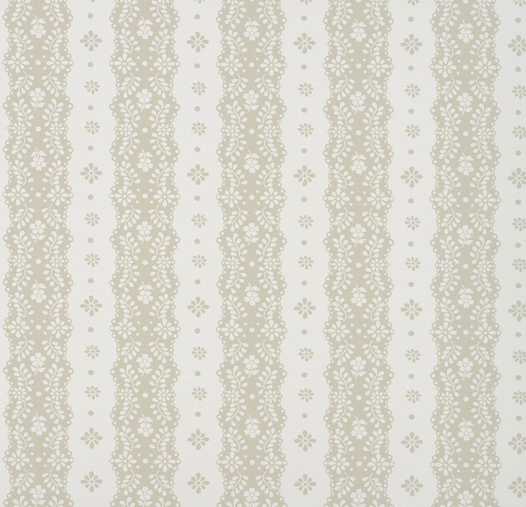 Tienda online telas papel papel pintado rayas dentelle for Papel pintado beige